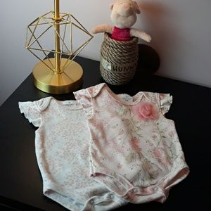 Laura Ashley Baby Onesie Bundle